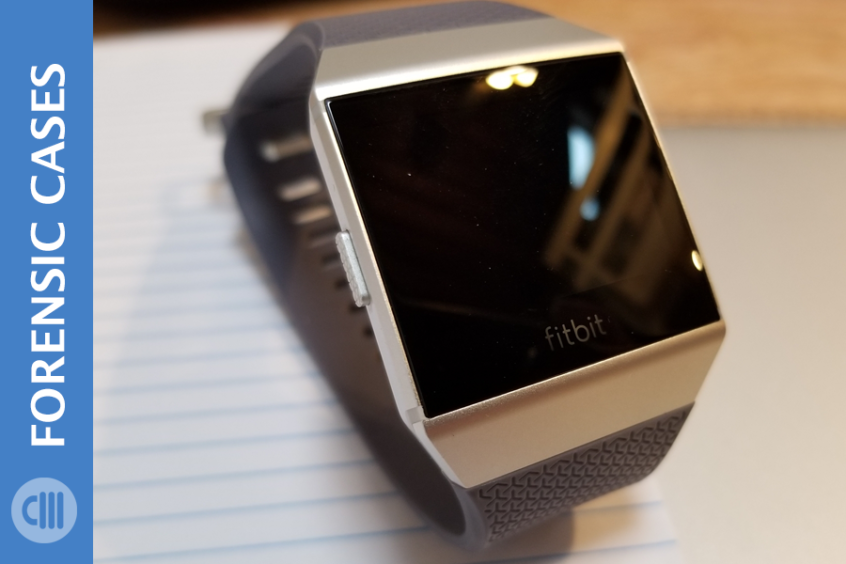 Forensics on FitBit Help Solve a Murder